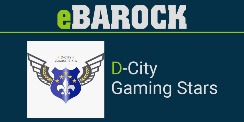 D-City Gaming Stars Logo