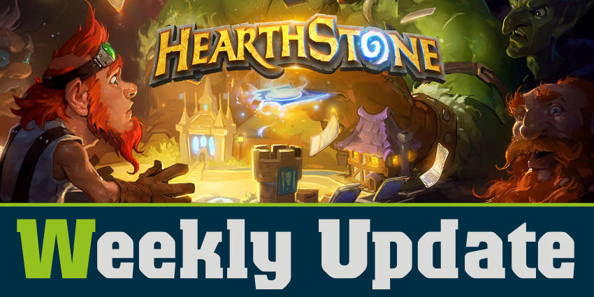 WeeklyUpdateHS 850x425 - Weekly Update Hearthstone (KW 17 - 19)